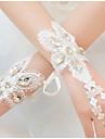Wrist Length Fingerless Glove Lace Bridal Gloves / Party/ Evening Gloves / Flower Girl Gloves Spring / Summer / Fall IvoryBeading /