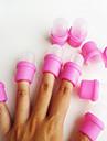 10st / set nagellacksremover shellack renare spik gel remover