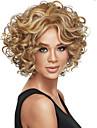 de haute qualite mode europeenne et americaine perruque frisee, deux couleurs sont facultatives.