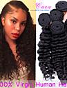 7a malaysiska vinkar djupt jungfru hår 3 st malaysiska djupt lockigt väva människohår buntar malaysiska hår