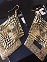 Pentru femei Cercei Picătură Bijuterii Statement Personalizat Vintage costum de bijuterii Aliaj Geometric Shape Bijuterii Pentru Nuntă