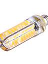 12W E14 E12 G8 E17 Ampoules Mais LED T 80 SMD 5730 1200 lm Blanc Chaud Blanc Froid Gradable Decorative AC 110-130 V 1 piece