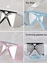 Made In China Simglasögon Dam / Herr / Unisex Anti-Dimma / Vattentät Plast Akryl Rosa / Svart / Ljusblå Genomskinliga