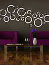 3D Circle DIY Mirror Acrylic Wall Stickers Wall Decals