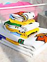 4 stycken 100% bomull karikatyrerna ut handduk set