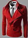 Manteaux & Vestes ( Tweed ) Informel Col chemise a Manches longues pour Homme