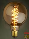 G125 tråd runt 40W glödlampa edison glödlampor bar pärla volframlampa edison glödlampa retro dekoration
