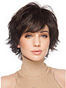 Dark Brown Full Wig for Women Cheap Wigs Short Curly Synthetic False Hair Short Natural Women\'s Wigs