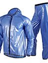 NUCKILY® Veste avec Pantalon de Cyclisme Femme Unisexe Manches longues VeloEtanche Respirable Sechage rapide Pare-vent Design Anatomique