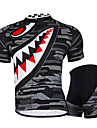 NUCKILY Mountain Bike Team Custom Summer Suit Short Sleeved Shirt Shorts Men Riding Tour Equipment