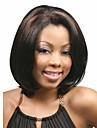 nyanländ mode mixa färg peruk mitt långa raka kvinna syntetiska peruker hår peruk för daglig