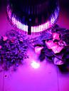morsen® ledde växt ljus 54W e27 12red 6blue ledde hydroponiska växt blommor vegatables grön ledde växtodlings lampa
