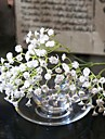"""1 Gren Silke Kiselgel Brudslöja Bordsblomma Konstgjorda blommor 60(23.6"""")"""