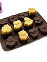 coacere Mold Animal tort pentru ciocolată pentru Cookie pentru Candy SiliconAnul Nou ziua îndragostiților Ziua Recunoștinței Crăciun