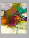 HANDMÅLAD AbstraktKlassisk En panel Kanvas Hang målad oljemålning For Hem-dekoration