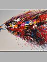 Pictat manual AnimalModern Un Panou Canava Hang-pictate pictură în ulei For Pagina de decorare