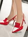 Chaussures Femme - Exterieure / Bureau & Travail / Decontracte - Noir / Rose / Rouge / Blanc / Amande - Talon Aiguille - Talons - Talons -
