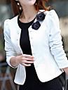 Women\'s Elegant Double Breasted Long Sleeve Jacket