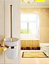 Porte Brosse de Toilette / Gadget de Salle de Bain Ti-PVD Fixation Murale 7.8cm*3.9cm*38cm(17*13.8*14.9inch) Laiton Neoclassique