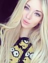 blonde menselijk haar pruik Braziliaanse maagdelijke full lace menselijk haar pruiken blond steil haar kant voor pruiken voor vrouwen 613