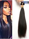 """1 st / lot 12 """"-22"""" 8a malaysiska jungfru hår rakt människohår väft 100% obearbetat malaysiska remy hår väver"""