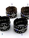 Smycken Inspirerad av Black Butler Cosplay Animé Cosplay Accessoarer Armband Svart / Brun Legering / PU Läder Man / Kvinna