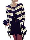 Femei Vintage / Casual / Party / Plus Size / Drăguț(e) / Business Femei Palton Manșon Lung Altele