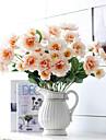 Une succursale Polyester Pivoines Fleur de Table Fleurs artificielles