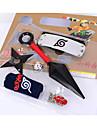 Costumes Cosplay / Plus d\'accessoires Inspire par Naruto Sasuke Uchiha Anime Accessoires de Cosplay Cape / Plus d\'accessoiresAlliage /