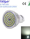 7W GU10 LED-spotlights A50 48 SMD 2835 600 lm Kallvit Dekorativ AC 220-240 / AC 110-130 V 1 st