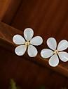 Dame Cercei Stud costum de bijuterii Aliaj Flower Shape Bijuterii Pentru Nuntă Petrecere Zilnic Casual
