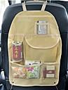 ziqiao portable, etanche dossier du siege sac de finition avec pochette du compartiment du siege poches de voiture