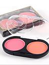 2 Puderrouge Torr PuderShimmer glitter gloss / Färgat gloss / Fukt / Olje-kontroll / Långvarig / Concealer / Ojämn hudfärg / Naturlig /