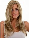 grande longueur des cheveux raides lumiere europeenne meche couleur melangee perruque de cheveux