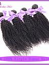 7a vierges bon marche indien crepus boucles noeuds de blanchiment d\'extension de cheveux afro crepus de cheveux d\'armure de cheveux