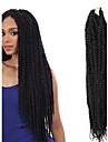 #1 / #30 / Grey Gradient Box Braids twist Flätor Hårförlängningar 22inc Kanekalon 18/1 Strå 70g gram Hair Braids