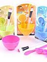 skönhet DIY hand / ansikte / fot mask set (slumpvis färg)