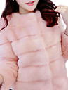 Faux Fur Outerwear , Lined