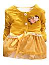 Fata lui Primăvara/Toamna Micro-elastic Mediu Mânecă Lungă Pulovere & Cardigans ( Bumbac )