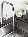 Contemporain Bar / accessoires Montage Pivotant with  Soupape ceramique Mitigeur un trou for  Acier Inoxydable , Robinet de Cuisine