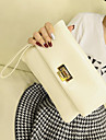 Women PU / Oxford Cloth Evening Bag White / Black