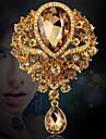 Dame Broșe La modă bijuterii de lux Cristal Ștras Bijuterii Pentru Nuntă Petrecere Ocazie specială Zi de Naștere Zilnic