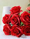 1 pcs decoration de mariage rose artificielle (couleur aleatoire)