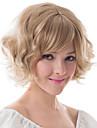 europa och Förenta staterna kemiska fiber peruk blond fleeciness vågig kvinna peruk mössor