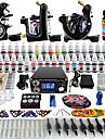 Kit de tatouage complet 3 machine x tatouage en alliage pour la doublure et l\'ombrage 3 Machines de tatouage LCD alimentationEncres