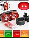 Lampe Arriere de Velo / Eclairage securite velo / Ecarteur de danger LED - Cyclisme Etanche AAA 80 Lumens Batterie Cyclisme-XIF SHENG