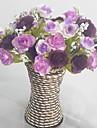 Gren Silke Plast Roser Bordsblomma Konstgjorda blommor 13