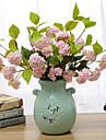 Une succursale Soie Hortensias Fleur de Table Fleurs artificielles 42CM