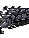 ZOSI® 8 Channel HDMI 960H DVR 8pcs 1000TVL Night Vision 120ft Outdoor CCTV Camera