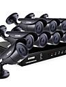 ZOSI® 8 Channel HDMI 960H DVR 8pcs 1000TVL Night Vision 120ft Outdoor CCTV Camera